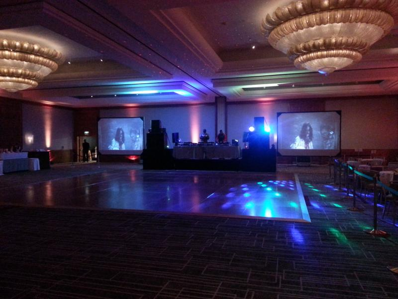 stage lights and sound rentals production services event