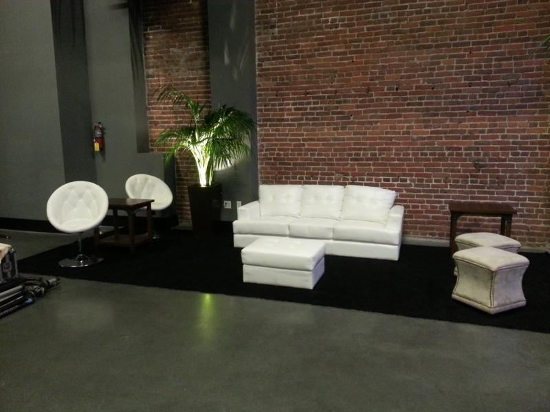 Event Furniture Rental San Francisco Stage Lights And Sound Rentals Production Services
