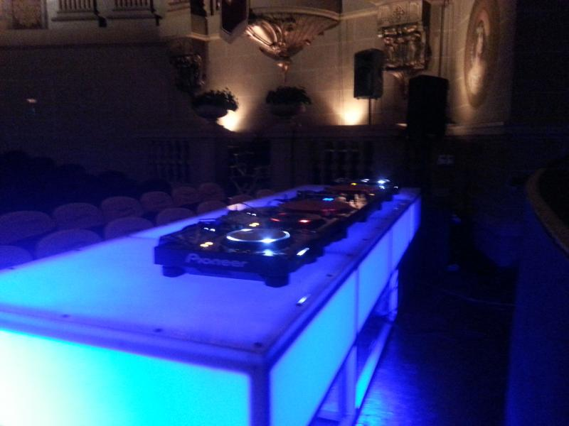Stage Lights and Sound Rentals & Production Services - dj