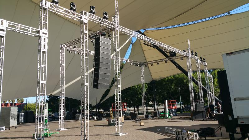 Lighting Truss Rental Hall Of Fame Event By Av For You At