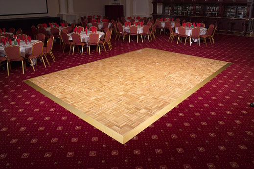 Portable Dance Floor On Carpet : Stage lights and sound rentals production services